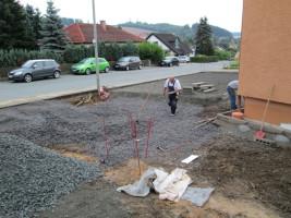 Umbau Rathaus - Gestaltung der Aussenanlagen