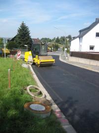 Straßensanierung Erlalohe
